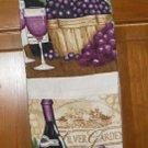 MadieBs Fruit of the Vine Grapes Plastic Bag Holder Dispenser