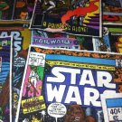 MadieBs Star Wars Comic Cotton Fabric Fitted  Crib Sheet Custom New