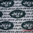 MadieBs New York Jets  Cotton Personalized Custom  Pillowcase  w/Name