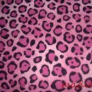 MadieBs Pink Leopard Spot Cotton Personalized Custom  Pillowcase  w/Name