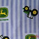 MadieBs John Deere on Flannel Cotton Personalized Custom  Pillowcase  w/Name