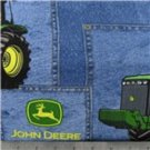 MadieBs Custom John Deere Crib Sheet