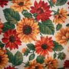 MadieBs Sunflower Multi Colored Cotton New Custom Smock Cobbler Apron