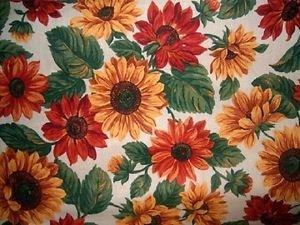 MadieBs Sunflower Multi Colored Cotton New Custom Smock Cobbler Apron