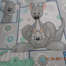 MadieBs Custom crib sheet  Down Under with Cute Animals