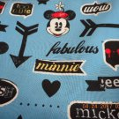 MadieBs Custom Mickey  and Minnie Mouse Boutique Crib Sheet