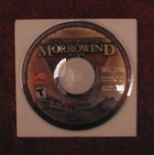 NEW - -The Elder Scrolls III: Morrowind CD