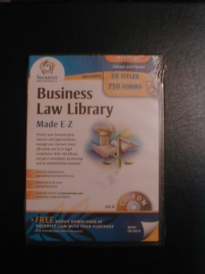 Socrates Business Law Library Software