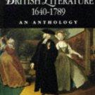 British Literature 1640-1789 (Blackwell Anthologies)