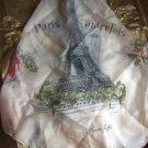 1960's World Fair Silk Scarf made in France