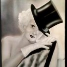Original Airbrush painting on Canvas of Jean Harlow from 1930'S TOP HAT PICTURE