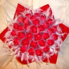 Origami Roses Bouquet  Forever Roses Valentine's Day Birthday Anniversary Gift Red