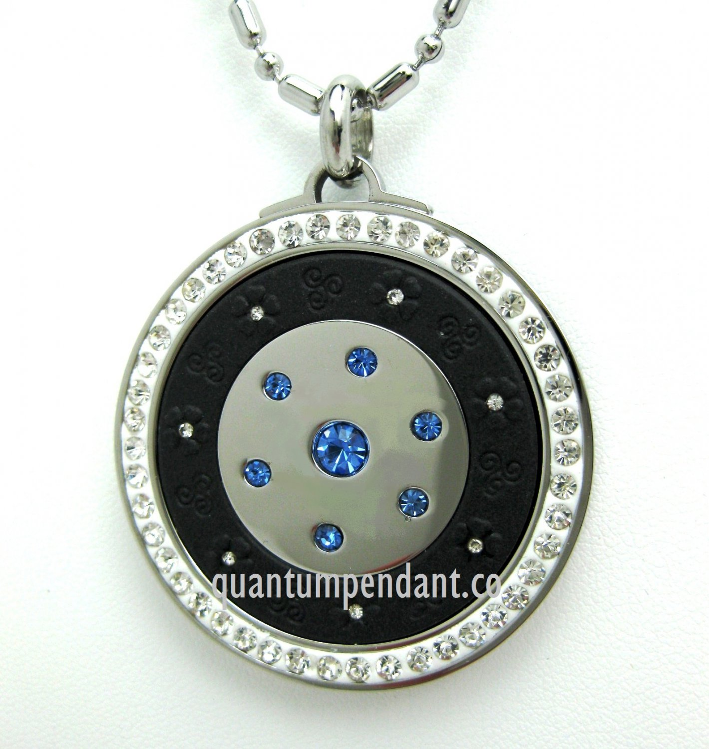 QP12B Quantum Pendant Scalar Energy Limited Edition Blue 2500 Neg Ions