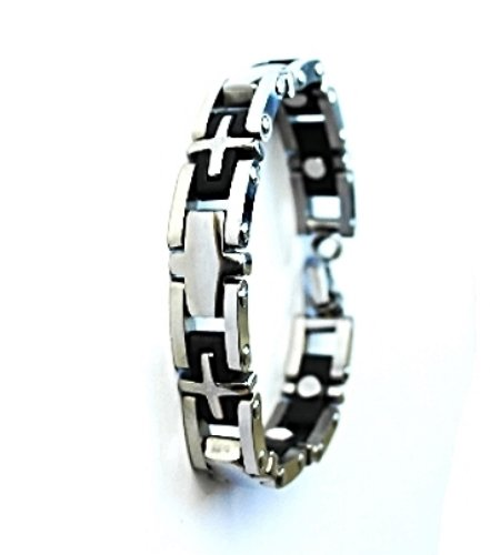 QB39 Dalimara Quantum Energy Power Bracelet with 4 Energies 2-Tone