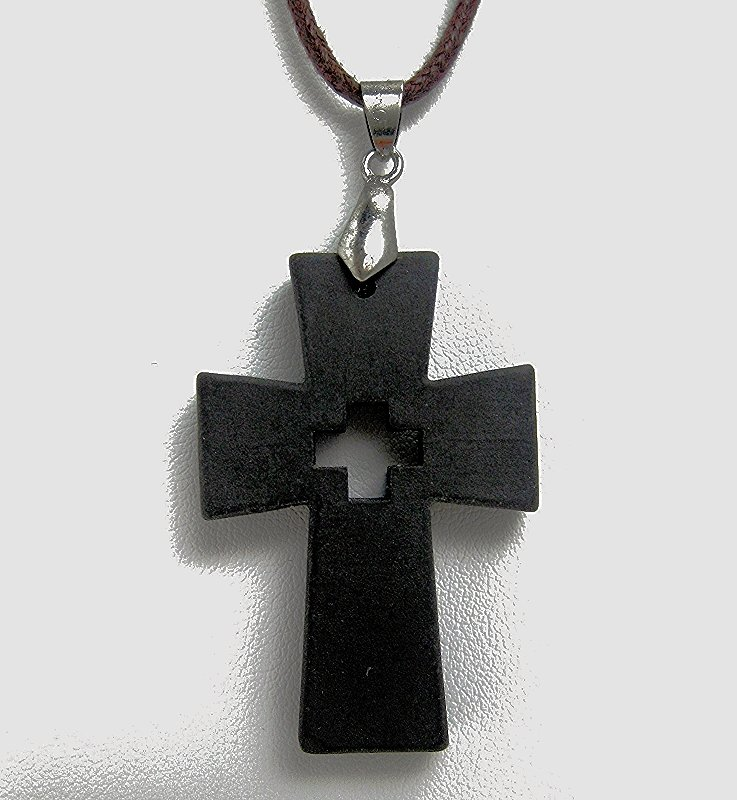 QP6 Quantum Pendant Scalar Energy Roman Cross Design