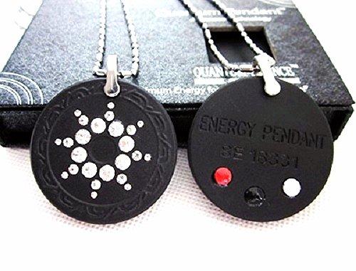QP7 Dalimara Quantum Pendant 5000 Neg Ions Swarovski Crystal + 4 Energy