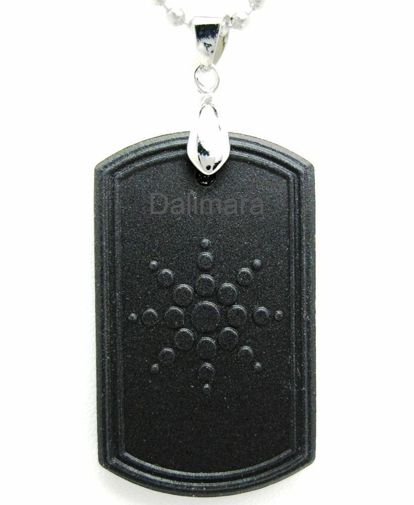 QP8 Dalimara Pendant Dog Tag w/ FIR & Germanium - New