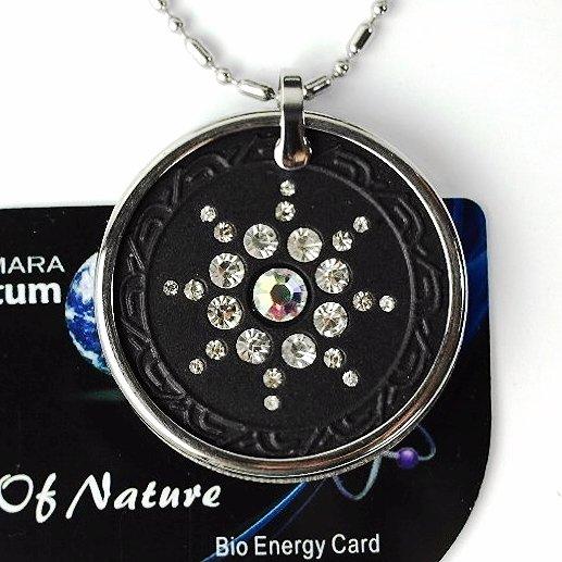 QP7 Dalimara Quantum Pendant Energy 5000 Neg Ions Swarovski Crystal AB
