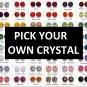 PICK-YOUR-OWN Swarovski Crystal QP7 Quantum Pendant 5K Negative Ions