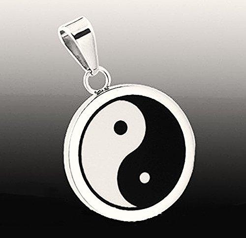 QP36 Yin Yang Chinese Taoism Symbol Necklace Energy Pendant