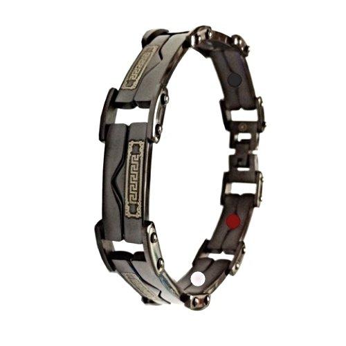 QB31 Dalimara Quantum Energy Power Bracelet with 4 Energies Black