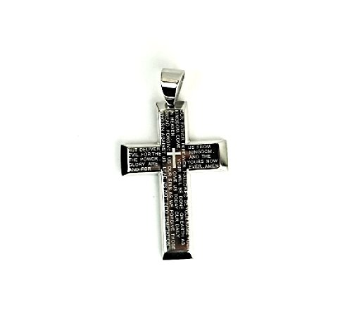 "QC45 Fontana Dalimara Quantum ""Our Father"" Prayer with Energy Cross Pendant"