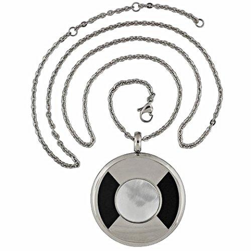 QP57 Tohoku Classic Quantum Energy Pendant Mother of Pearl