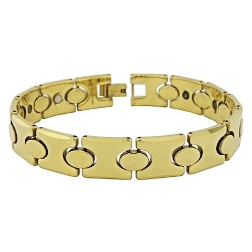 QBT2 Dalimara Hikari Gold Tungsten Energy Bracelet