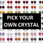 QP7 Made-To-Order Swarovski Crystal Signature Quantum Pendant with 4 Energy