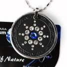 QP7 Quantum Necklace Energy 5K Ion Swarovski Sapphire September Birthday