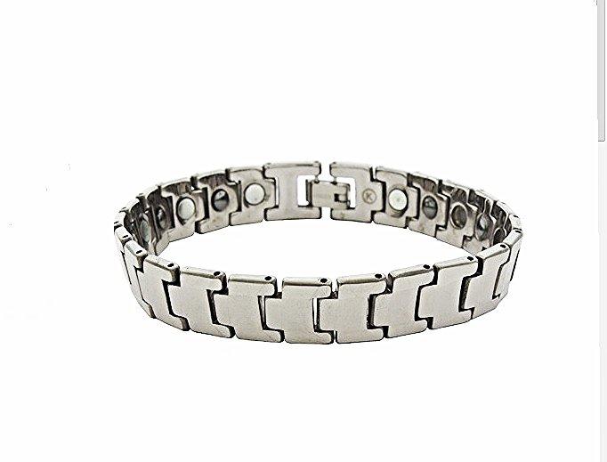 QBT3 Dalimara Kai Classic Tungsten Energy Bracelet and Magnetic