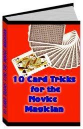 10 Great Card Tricks (EBOOK)
