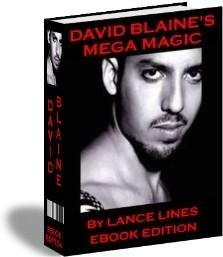 David Blaine Mega Magic (Limited Edition) (SUPER-EBOOK)