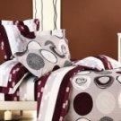 4-pc Comfortable Light Pink Floral Cotton Duvet Cover