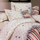 Yellow  Cotton Bedding Set Flower Printed