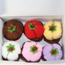 Lovely Fruits Cotton Towel Gift Box