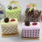 Cute Toast Cotton Towel Gift Box