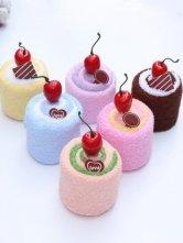 Cute Cotton Artificial Fruit Towel Gift Box
