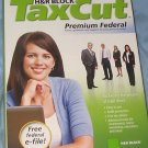 HR Block Taxcut Premium Federal state SEALED box 2008