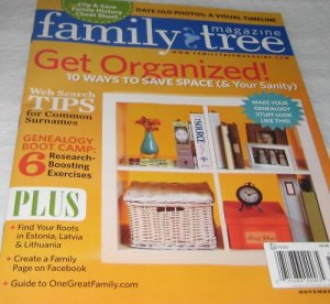 Family TREE Magazine November  2010 Genealogy boot CAMP