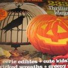 Better homes Gardens Halloween tricks treats magazine 2011 ADD BLACK Bling