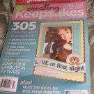 creating KEEPSAKES scrapbook magazine