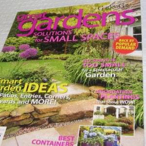 Great Gardens Small space solution Foundation PLANTINGS
