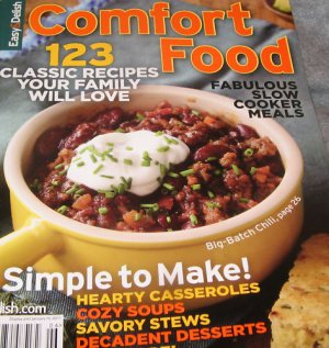 COMFORT Food SLOW cooker meals Easy MAGAZINE desserts