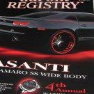 Dupont Registry Magazine ASSANTI Camaro SS Wide Body
