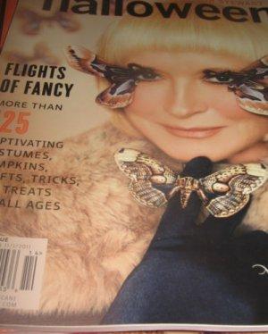 Martha Stewart Halloween 2011 Flights of FANCY magazine MOTHA winged wonder