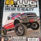 8 lug HD Truck build super duty step by step ELOCKER Detroit locker LED Lights