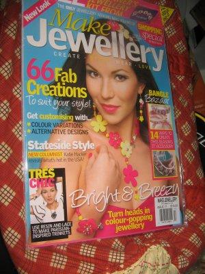 Make Jewellery magazine jewelry BANGLES resin lace Fab  Alternative designs Chic