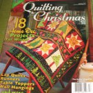 Quilting for CHRISTMAS home decoration projects runners table toppers hangings