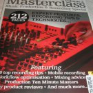 Musictech MASTERCLASS vol 2 production recording free DVD mobile mixing tips
